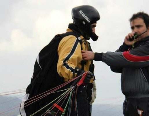 滑翔伞课程Oludeniz Turkey